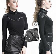 OUTLET Top haut gothique punk lolita sangle chaîne collier clouté Punkrave