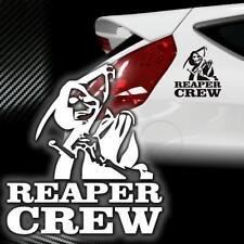 Sticker Motorrad Aufkleber Autotattoo Reaper Reapers Skull Sensenmann Auto JDM