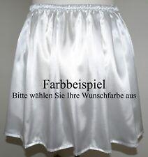 Minirock - Damenrock - glänzender Satin - Gr.48/50/52/54/56 IN VIELEN FARBEN !!