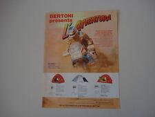 advertising Pubblicità  1988 TENDE BERTONI e EDI ORIOLI