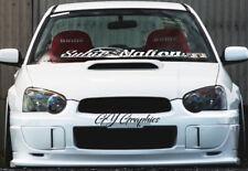 "Subaru 3/"" Fender Hash Mark Stripe Stripes PAIR WRX Impreza Outback Forester STI"