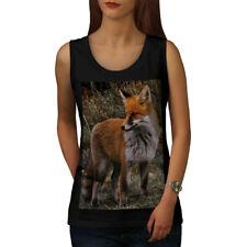 Flaming Hunter Fox Women Tank Top NEW | Wellcoda
