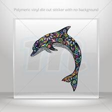 Stickers Decal Floral Dolphin Car Motorbike Bike Garage bike st5 X5635