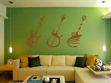 GUITAR - MUSIC BEDROOM Wall Art & Wall Decal Sticker UK SH98