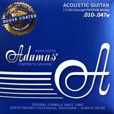 Adamas Akustik Gitarre NUOVA PHOSPHOR BRONZE BESCHICHTET Saiten SATZ Strings