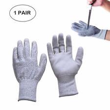 1 Paire Gants de Travail Gloves Anti-Coupure Abrasion Sécurité Protection Mode