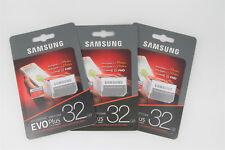 MicroSD Memory Card 32GB 64GB UHS-I Evo Plus 95mb/s 100mb/s Class10 X3 Pack