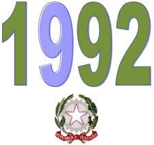 ITALIA Repubblica 1992 Spezzoni  MNH **   Scegli