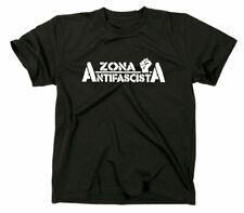 Zona Antifascista T-Shirt Antifaschista Antifa Siempre Antifaschismus Faschismus