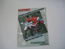 advertising Pubblicità 1985 MOTO CAGIVA ELEFANT 125