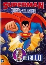 Superman Super-Villains: Metallo (DVD, 2013) in plastic case with artwork