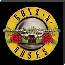 Guns N' Roses Bullet Logo Classic Album Cover Canvas Print 40 x 40 x 2.5cm