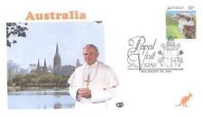 Australia 1986 Jan Pawel II papież John Paul pope papa (86/2)