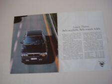 advertising Pubblicità 1991 LANCIA THEMA TURBO 16V
