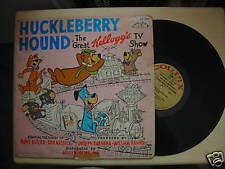 Vintage HUCKLEBERRY HOUND The Great Kellogg's TV Show LP