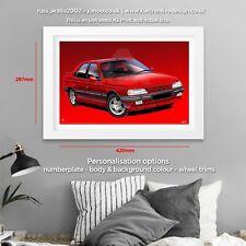 Peugeot 405 Mi16 Poster Print
