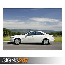 MERCEDES Benz 4 (AD339) POSTER AUTO-Foto immagine stampa poster art A0 a A4
