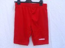 Pantaloncini bermuda scaldamuscoli Unisex Garman Energy Colore Rosso  Adulto