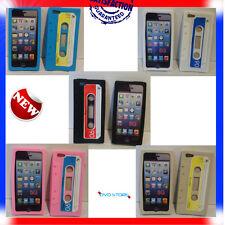 Pellicola+Custodia CASSETTA TAPE RETRO per Apple Iphone 5