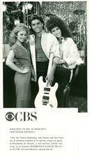 JOHN STAMOS JAMI GERTZ VALERIE STEPHENSON ELECTRIC GUITAR DREAMS 84 CBS TV PHOTO