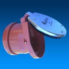 Froschklappe Nagerschutz für KG Rohr Abwasserrohr DN100 Ø110 mm DN 150 Ø 160 mm