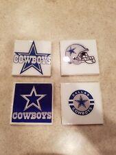 Dallas Cowboys Themed 4x4 Ceramic Coasters Handmade