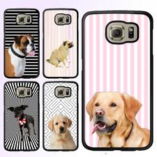 Galaxy S8 S8 Plus S7 S6 Edge S5 Note 8 5 Case Cute Pug Puppy Dog Bumper Cover