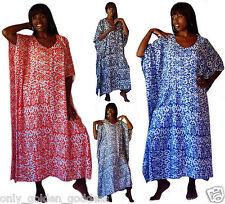 u choose color caftan dress maxi M L XL 1X 2X 3X OS abaya tribal print lounge