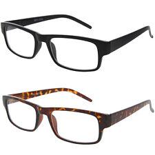Fashion Retro Unisex Mens Womens Clear Lens Rectangle Nerd Geek Glasses Eyewear