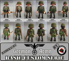 SOLDADO EJERCITO ALEMAN 60uns. WW2 GUERRA MUNDIAL GERMAN ARMY SOLDIER PLAYMOBIL