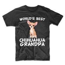 World's Best Chihuahua Grandpa Dog Owner T-Shirt