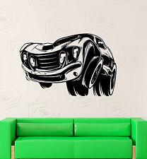 Vinyl Decal Muscle Car Garage Boy Room Kids Art Wall Stickers Mural (ig2150)