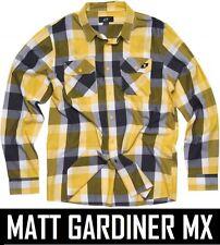 ONE INDUSTRIES HOMBRE COOPER camisa de manga larga casual tejido yellow adulto