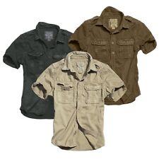 Surplus 1/2 EEUU Raw Vintage camiseta camisa manga corta lavado Militar Ejército