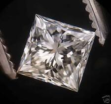 """Egl-usa certed 0.50 ct Princess Cut Diamante """"i"""" SI-1"""