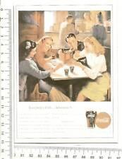 CARTOLINA COCA COLA RIVISTA LIFE DEL 1947 F9369