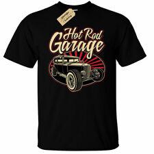 Hotrod Garage Mens T-Shirt usa classic hot rod car vintage racer