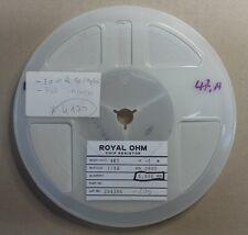 Resistance CMS 4,7K 1/8W 5% 0805 - 1 bobine / 1 reel