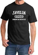 1968 AMC Javelin American Muscle Car Classic Design Tshirt NEW FREE SHIP