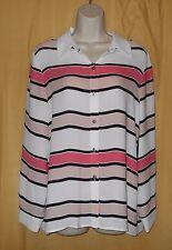 Vince Camuto ladie's Glacier Dream coral sugar button blouse shirt dress top $99