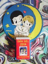 4.Hochzeitstag (2x) orig. Kalenderblatt JAN.-APR. 2014 Geschenk SEIDENE HOCHZEIT