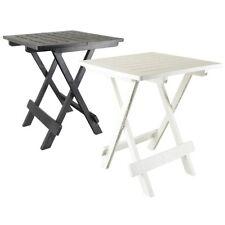TABLE APPOINT PLIANTE 50 X 45 X 43 CAMPING PORTABLE JARDIN EXTERIEUR PLIABLE 653