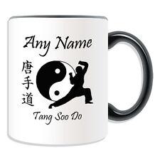 Cadeau personnalisé tang soo do Taijitu tasse argent boîte cup Kung Fu tsd tangsoodo