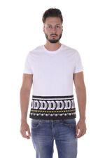 T-shirt Maglietta Versace Jeans T-Shirt Sweatshirt % Mars Uomo Bianco B3GQA764-3