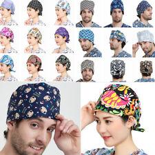 72 Kind Women Men Printing Scrub Surgery Cap Doctors Nurses Medical Surgical Hat