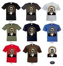T Shirt 8 Farbtöne Gothik Vintage Oldschool&Tattoomotiv Modell Mexican Mask