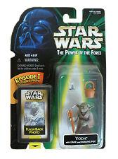 Yoda - Star Wars FLASHBACK PHOTO action figure Hasbro (1998) MOC