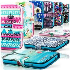 Cover Custodia per Apple iPhone - Silicone Case Bumper Flip Portafogli Wallet