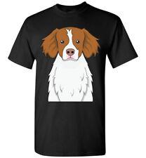 Brittany Spaniel Dog Cartoon T-Shirt Tee - Men Women Ladies Youth Kids Tank Long