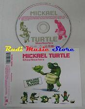 CD MICKAEL TURTLE Ghostbusters 2005 UNIVERSAL EU no mc lp dvd vhs (S10)